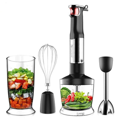 Portable Blender 4 in 1 Set For Kitchen Whisk Beaker Juicer