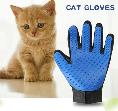 Bath Brush Cat Dog Comb Grooming Glove