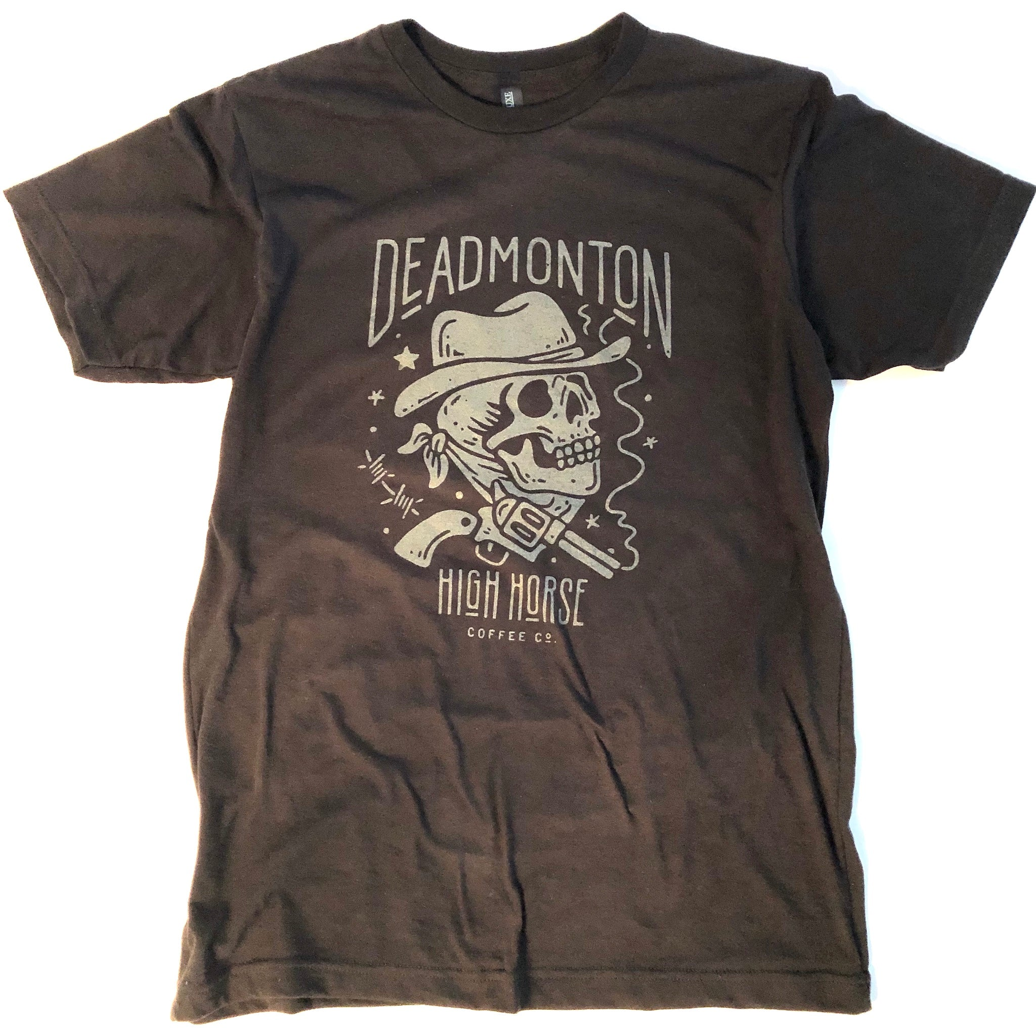 Deadmonton Tee - Black - Men's - High Horse Coffee Company