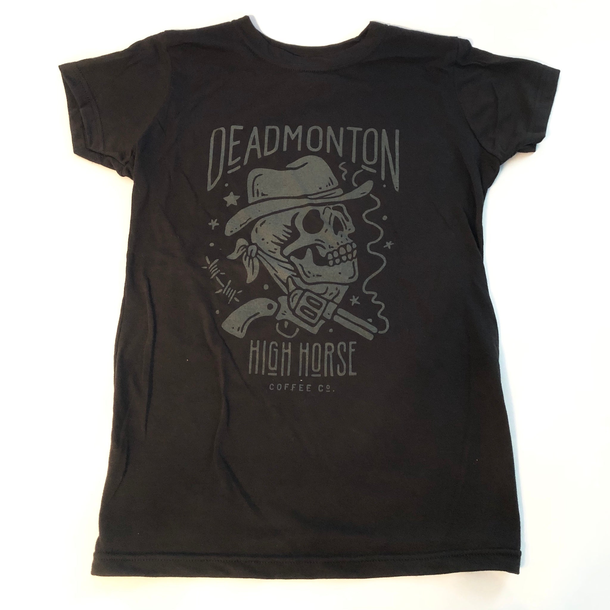 Deadmonton Tee - Black - Women's - High Horse Coffee Company