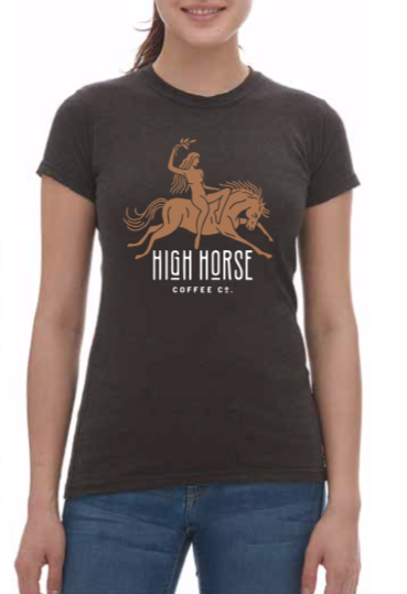 Priestess Tee - Graphite - Women's - High Horse Coffee Company