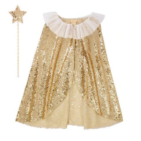 Gold Sparkle Cape