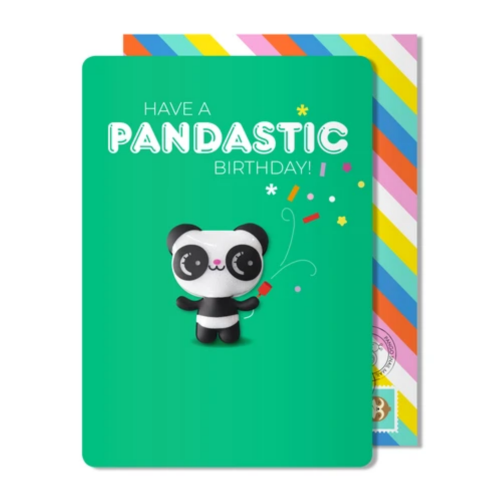 Pandastic Birthday Magnet Card -Birthday