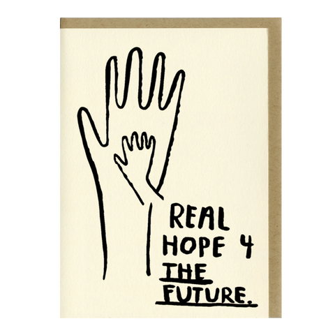 Real Hope For the Future Card -Baby