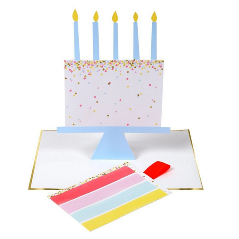 Slice of Cake Card-Birthday