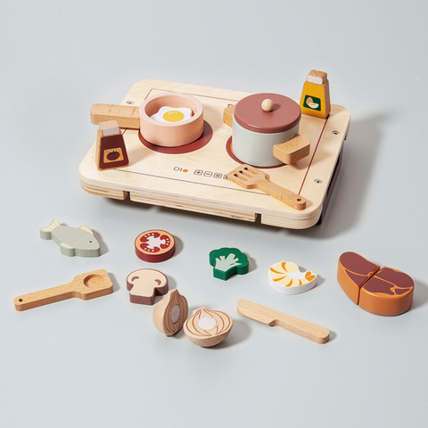 Wooden Diner Play Set 3yrs+
