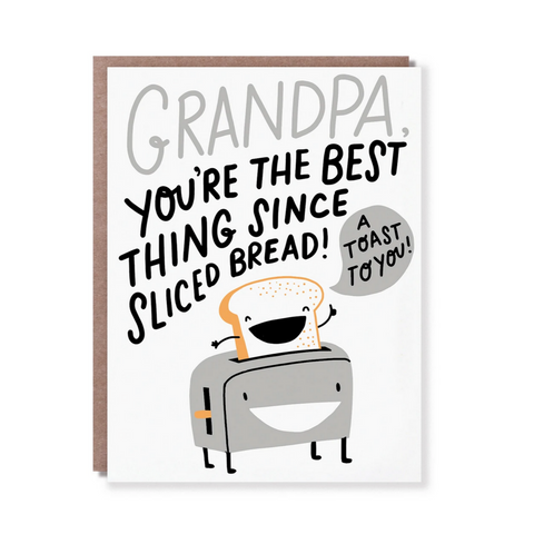 A TOAST TO GRANDPA-Father's Day