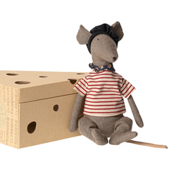 French Rat in Cheese Box