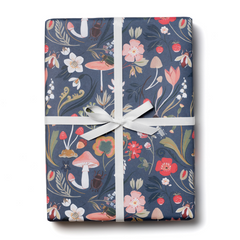 Forest Blue Gift Wrap Roll