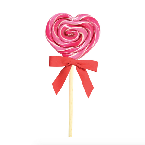 Organic Heart Cherry Lollipop