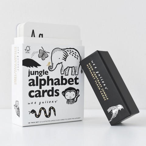 Jungle Alphabet Cards