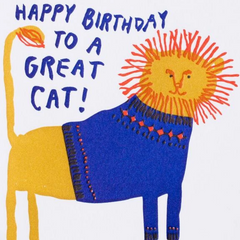 Great Cat Birthday -Birthday