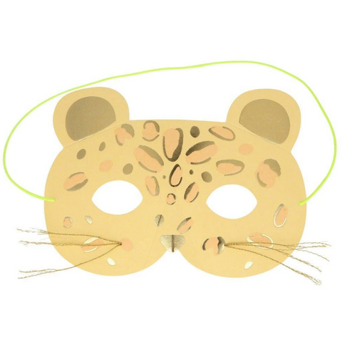 Leopard Mask Card -Birthday