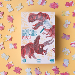 Discover the Dinosaurs Puzzle 200pcs 6yrs+