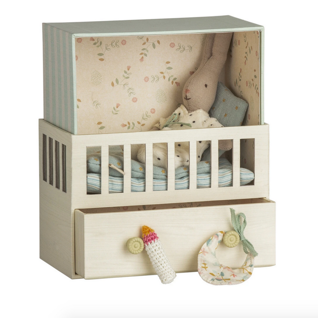 Baby Room Music Box with Micro Rabbit