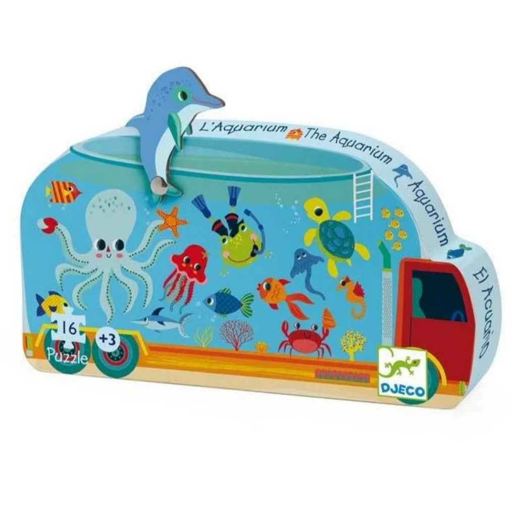 Aquarium Puzzle-16pcs 3+yrs