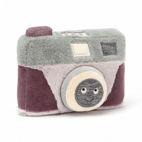 Jellycat Wiggedy Camera-With Sound!