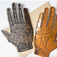 Deluxe Palmistry Card-Blank