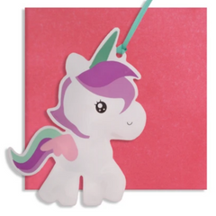 Inflatable Unicorn Card -Blank/Birthday