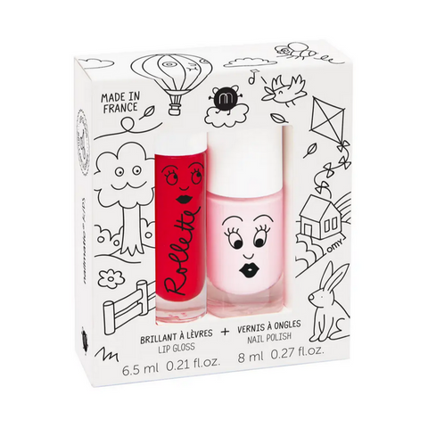Kids Cottage - Rollette Nail Polish Duo Set