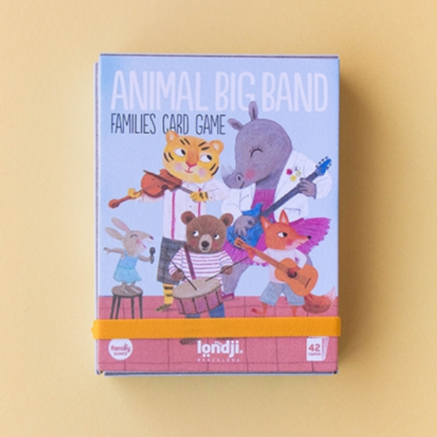 Animal Big Band -Family Card Game 3yrs+