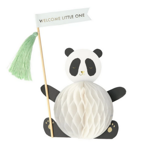 Baby Panda Stand-Up Card -Baby