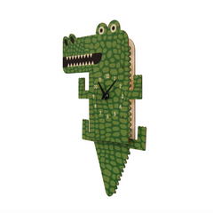 Alligator Pendulum Clock
