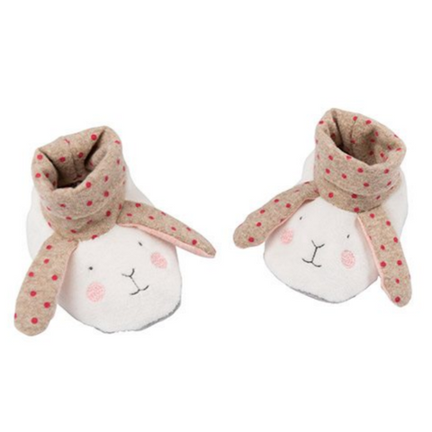 Bunny Slippers (0-6mos)