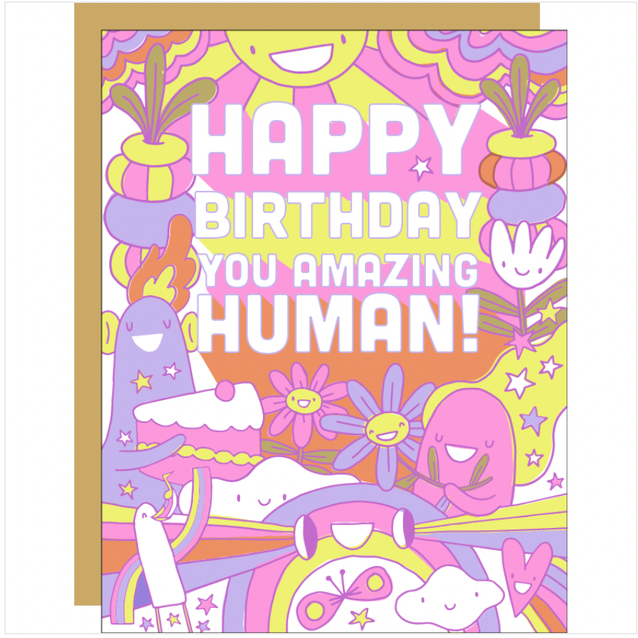 Amazing Human -Birthday/Baby