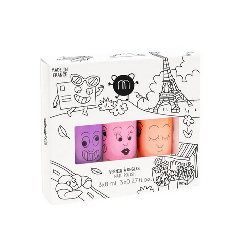 Paris Neon - Nail Polish Set