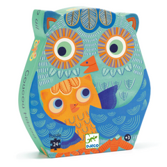 Hello Owl Puzzle-24pcs 3+yrs