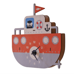 Tugboat Clock (No Pendulem)