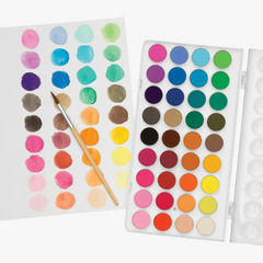 Watercolor Paint Pods Set