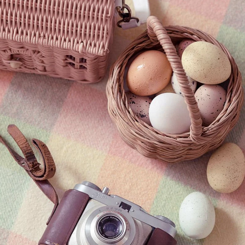 Rattan Berry/Easter Basket