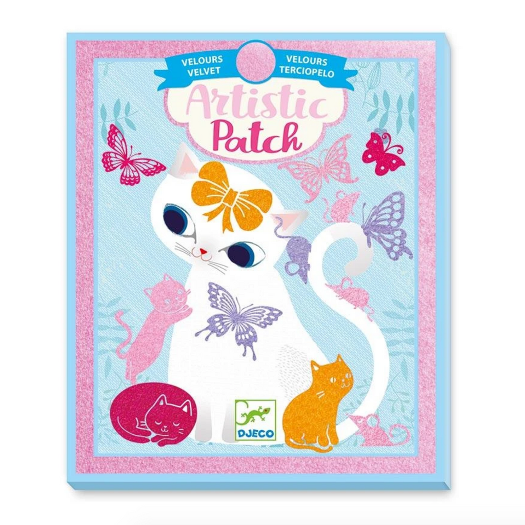 Little Pets Artistic Patch - Velvet Magic Transfers 6+yrs