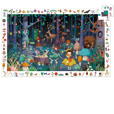 Observation Enchanted Forest Puzzle-100pcs 5+yrs