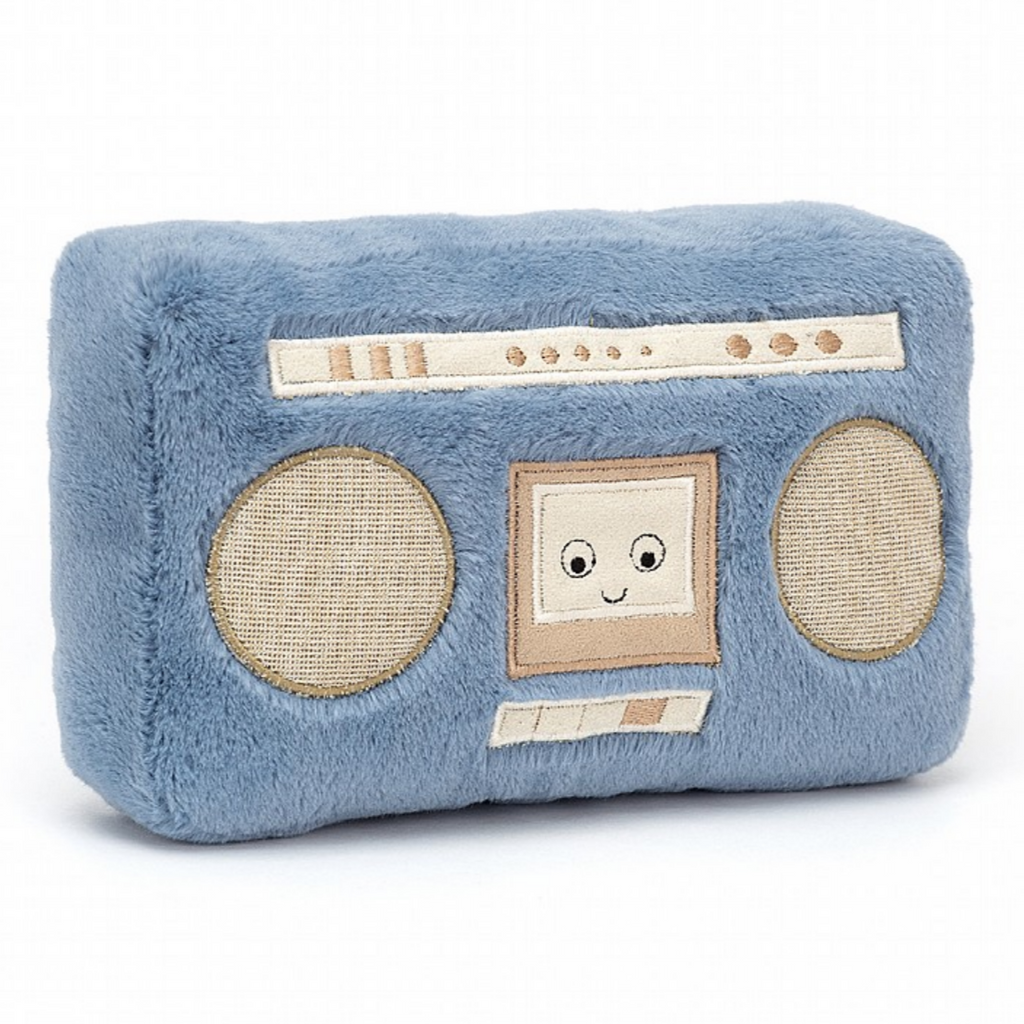 Jellycat Wiggedy Boombox- With Sound!