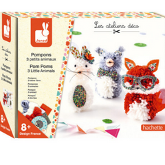Pom Poms 3 Little Animals 8yrs+