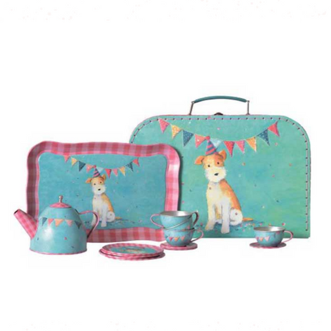 Tin Tea Set Eliot 3yrs+