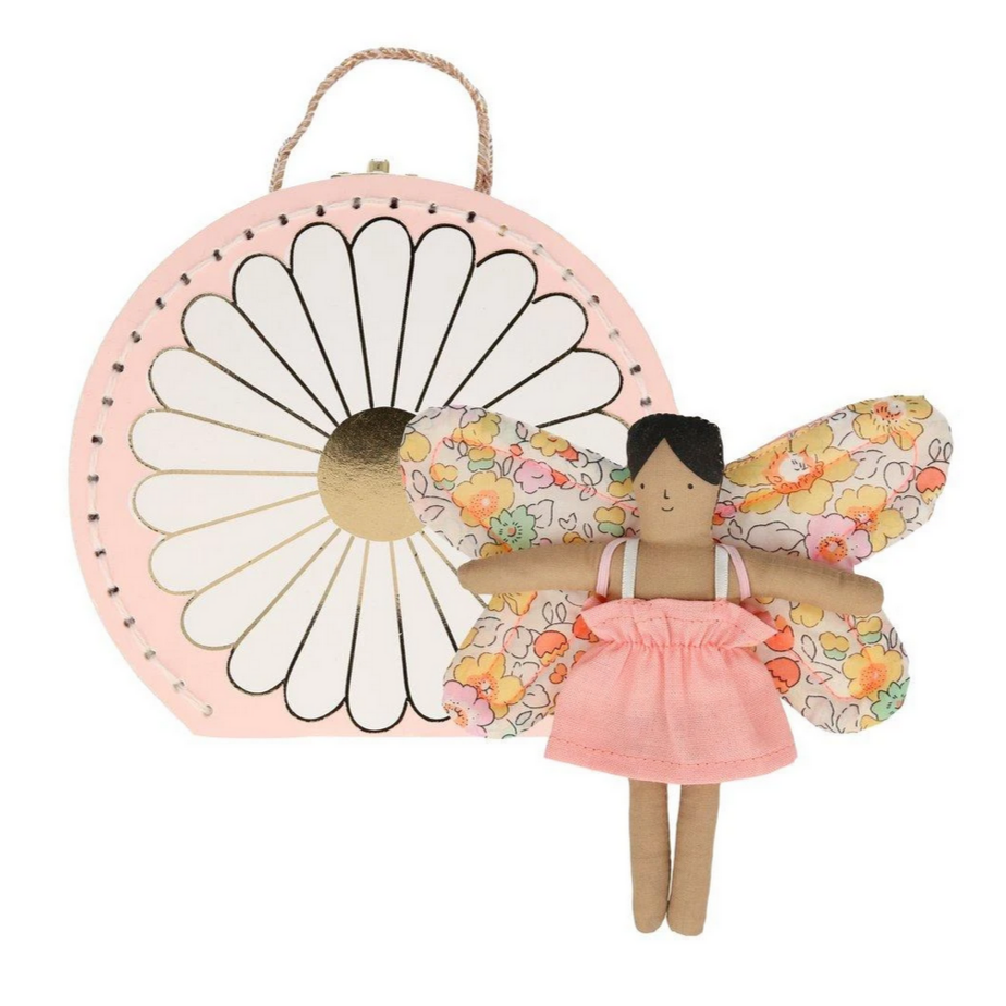 Butterfly Daisy Mini Suitcase Doll