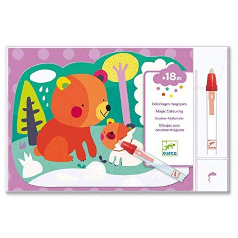 Hidden Woods Magic- Magic Coloring Kit  18mos-3yrs