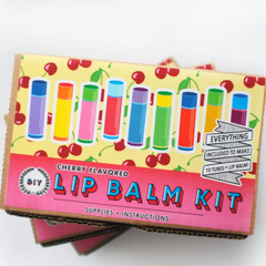 DIY Lip Balm Kit -choose from 4 flavors! 6+yrs