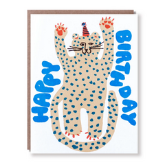 Party Cheetah -Birthday