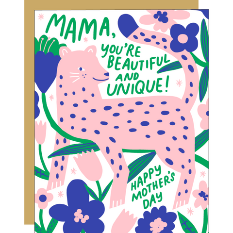 Mama Leopard -Mother's Day