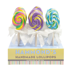 Easter Egg Shaped Lollipops