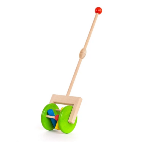 Bajo Wooden Rattling Push Toy