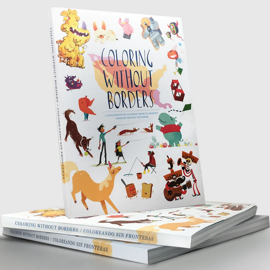 Coloring Without Borders: Coloring Book