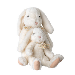 Fluffy Bunny, X-Large - White