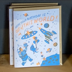 SPACE BIRTHDAY-Birthday