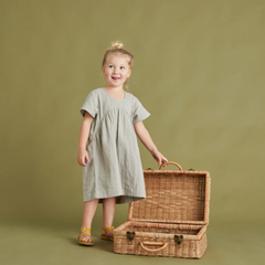 Olli Ella Toaty Trunk- Natural (pick up or local san francisco delivery only)